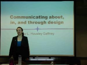 Amy Gaffney's dissertation defense